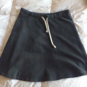 american apparel sweater skirt